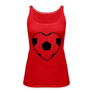Football Red - Women's Premium Tank Top