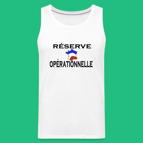 RESERVE OPERATIONNELLE - Débardeur Premium Homme