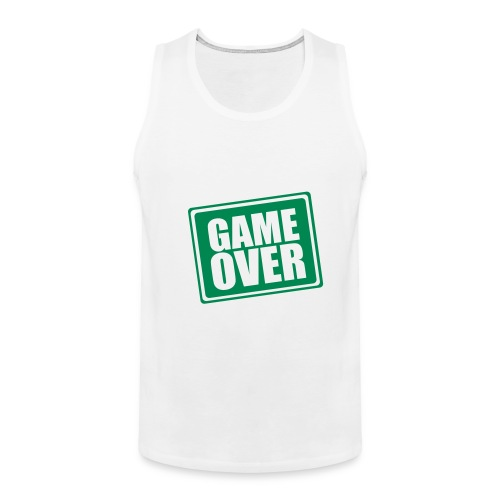 Game Over - Men's Premium Tank Top