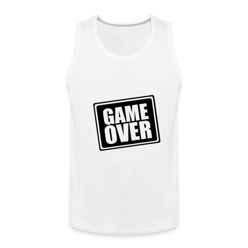 Game Over - Men's Premium Tank Top