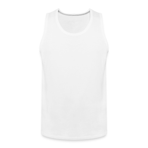 White Tanktop - Men's Premium Tank Top