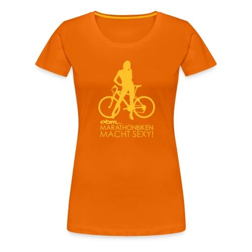 Sexy Orange Girl - Frauen Premium T-Shirt