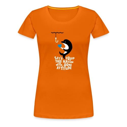 Attitude - Women's Premium T-Shirt
