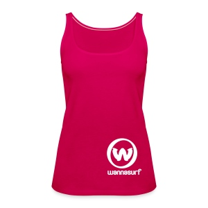My Wannasurf - Women's Premium Tank Top