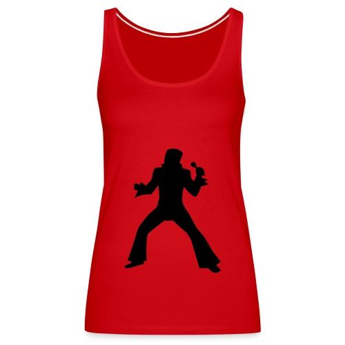 Elvis Red  - Women's Premium Tank Top