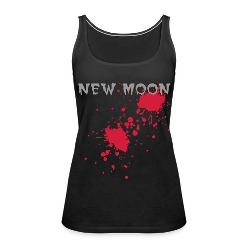 NEW MOON Black - Women's Premium Tank Top