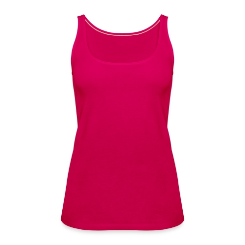 Ladies Pink Spaghetti Top - Women's Premium Tank Top