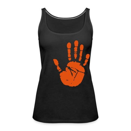 Handprint Logo Vest Top - Women's Premium Tank Top