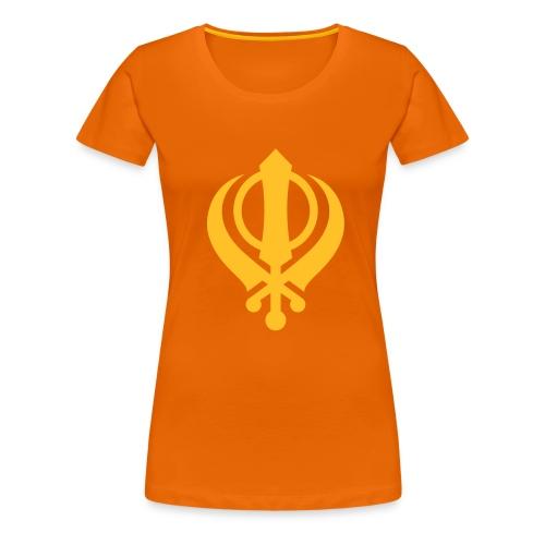 sikh_khanda1 - Women's Premium T-Shirt