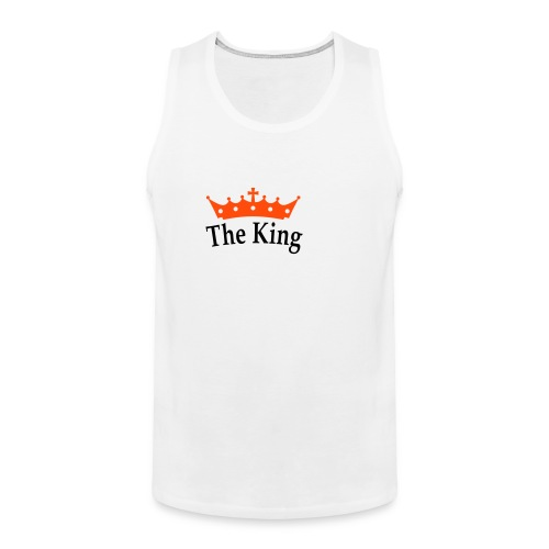 THE KING - Men's Premium Tank Top
