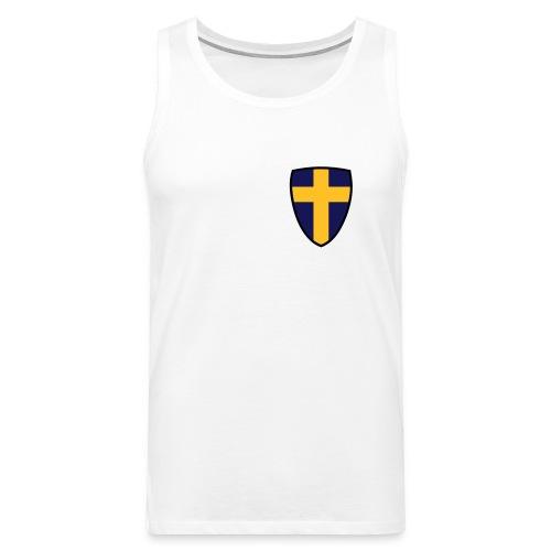 Sverige - Premiumtanktopp herr