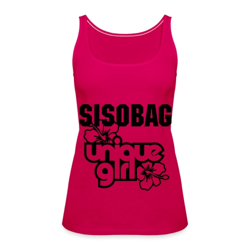 SisoBag Unique girl - Women's Premium Tank Top