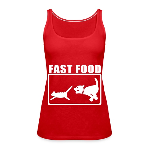 fastfood1 - Camiseta de tirantes premium mujer