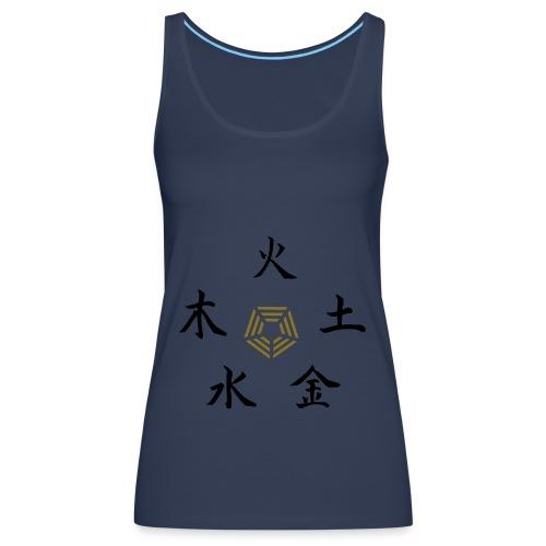 5elements - Camiseta de tirantes premium mujer