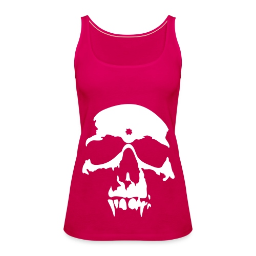 Skull Tank Top - Women's Premium Tank Top