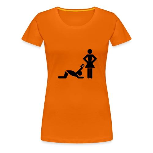 Kreditkarte - Frauen Premium T-Shirt