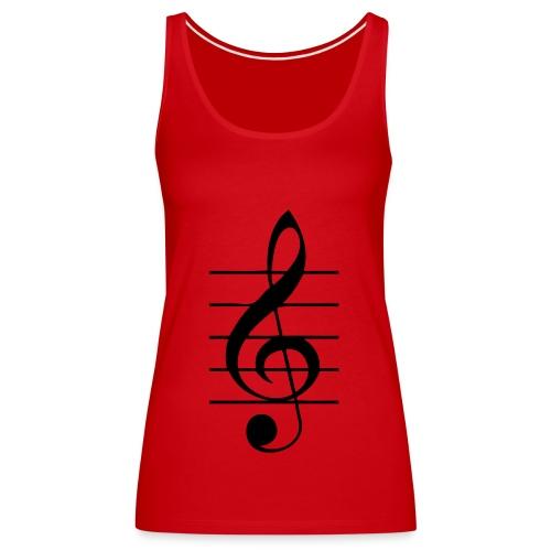 clave - Camiseta de tirantes premium mujer