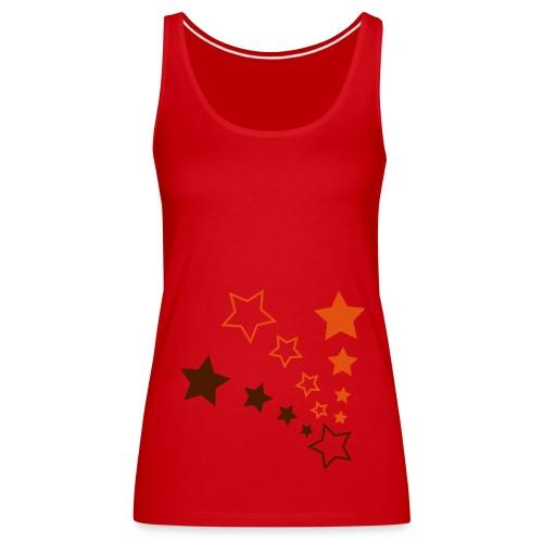 Stars toppi - Naisten premium hihaton toppi