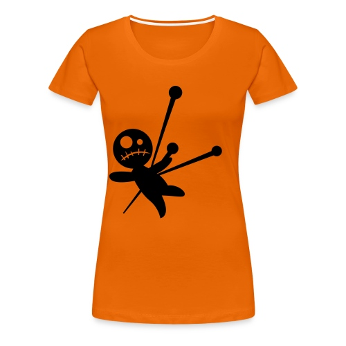 Voodoo Child Orange Tee - Women's Premium T-Shirt