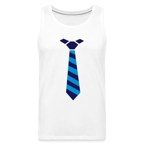 débardeur cravate - Débardeur Premium Homme