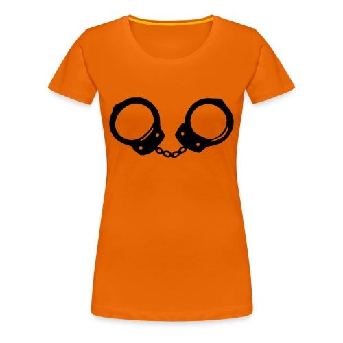 Menottes - T-shirt Premium Femme