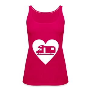 Motorhome heart - Women's Premium Tank Top