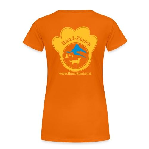 Hund-Zürich Staff - Frauen Premium T-Shirt