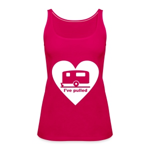I've pulled - heart - Women's Premium Tank Top