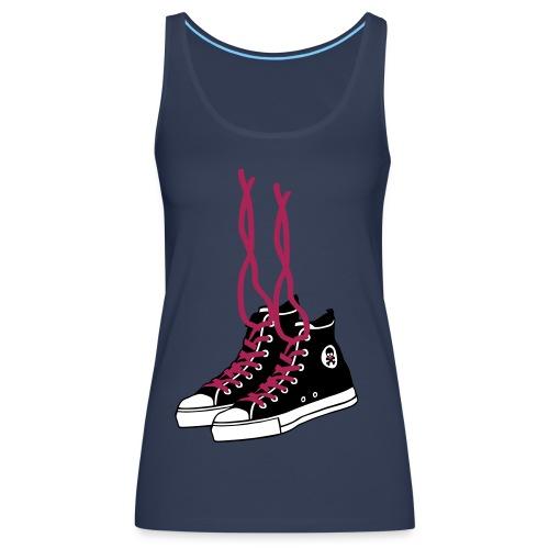 Womens Sneakers Vest - Women's Premium Tank Top
