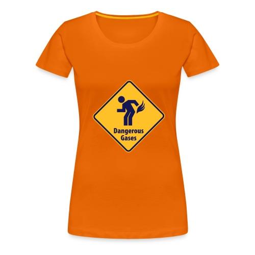 dangerous gases - Women's Premium T-Shirt