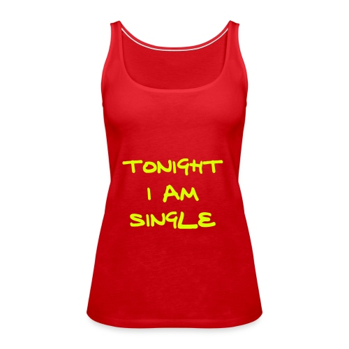 single - Women's Premium Tank Top