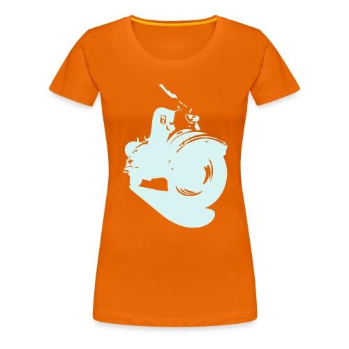 Lady-Powerreflex - Frauen Premium T-Shirt