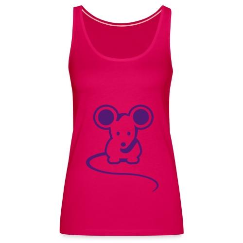 Women's Mouse Spaghetti Top - Women's Premium Tank Top