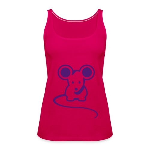 Women's Mouse Spaghetti Top - Women's Premium Tank Top