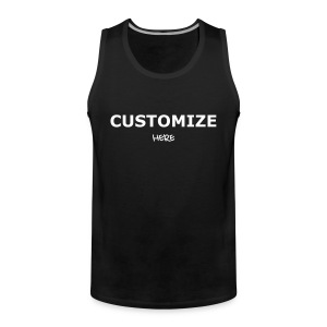 Mens Tank top; 3 Colours - Men's Premium Tank Top