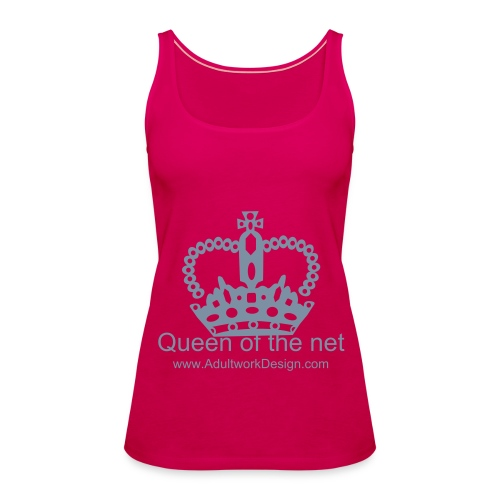 Queen of the Internet - Women's Premium Tank Top