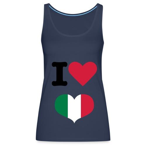 I LOVE ITALIA  - Débardeur Premium Femme