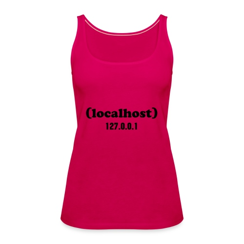 Woman localhost - Women's Premium Tank Top