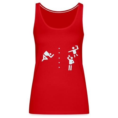 Sexy Flunkyball - Shirt / Top red - Frauen Premium Tank Top