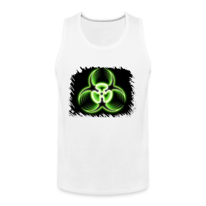 Biohazard Green - Premiumtanktopp herr