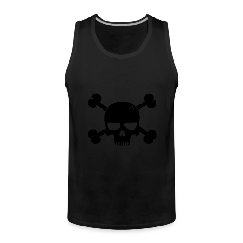 Skull Tank Top - Men's Premium Tank Top