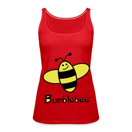 Bumblebee - Spaghetti top (Jente) - Premium singlet for kvinner