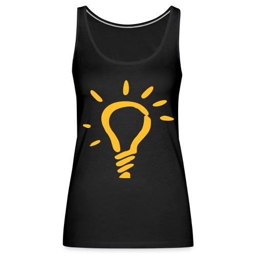 lumi noir/jaune - Débardeur Premium Femme