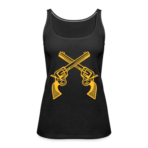 Guns - Vrouwen Premium tank top