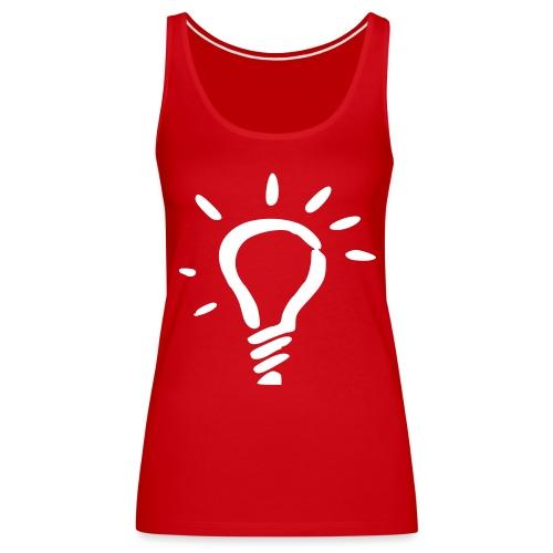 lumi rouge/blanc - Débardeur Premium Femme
