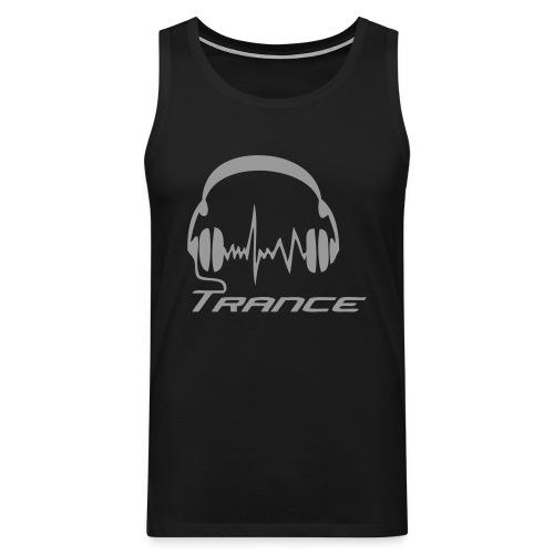 Trance Headphones - Reflex - Men's Premium Tank Top