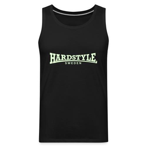 Hardstyle Sweden - Självlysande - Flera tröjfärger - Premiumtanktopp herr