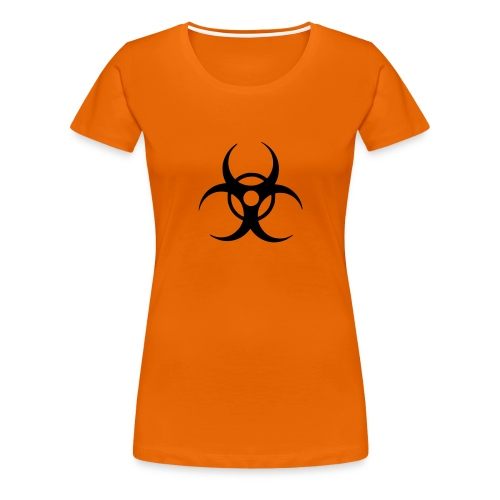 Biohazard (black) - Women's Premium T-Shirt