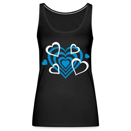 s, - Camiseta de tirantes premium mujer