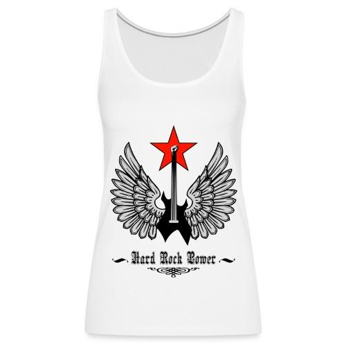 rock - Camiseta de tirantes premium mujer